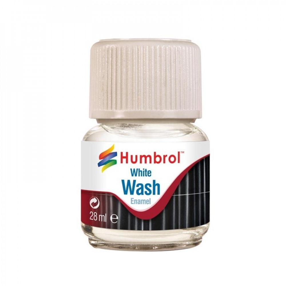 Enamel Wash White 28ml Humbrol AV0202