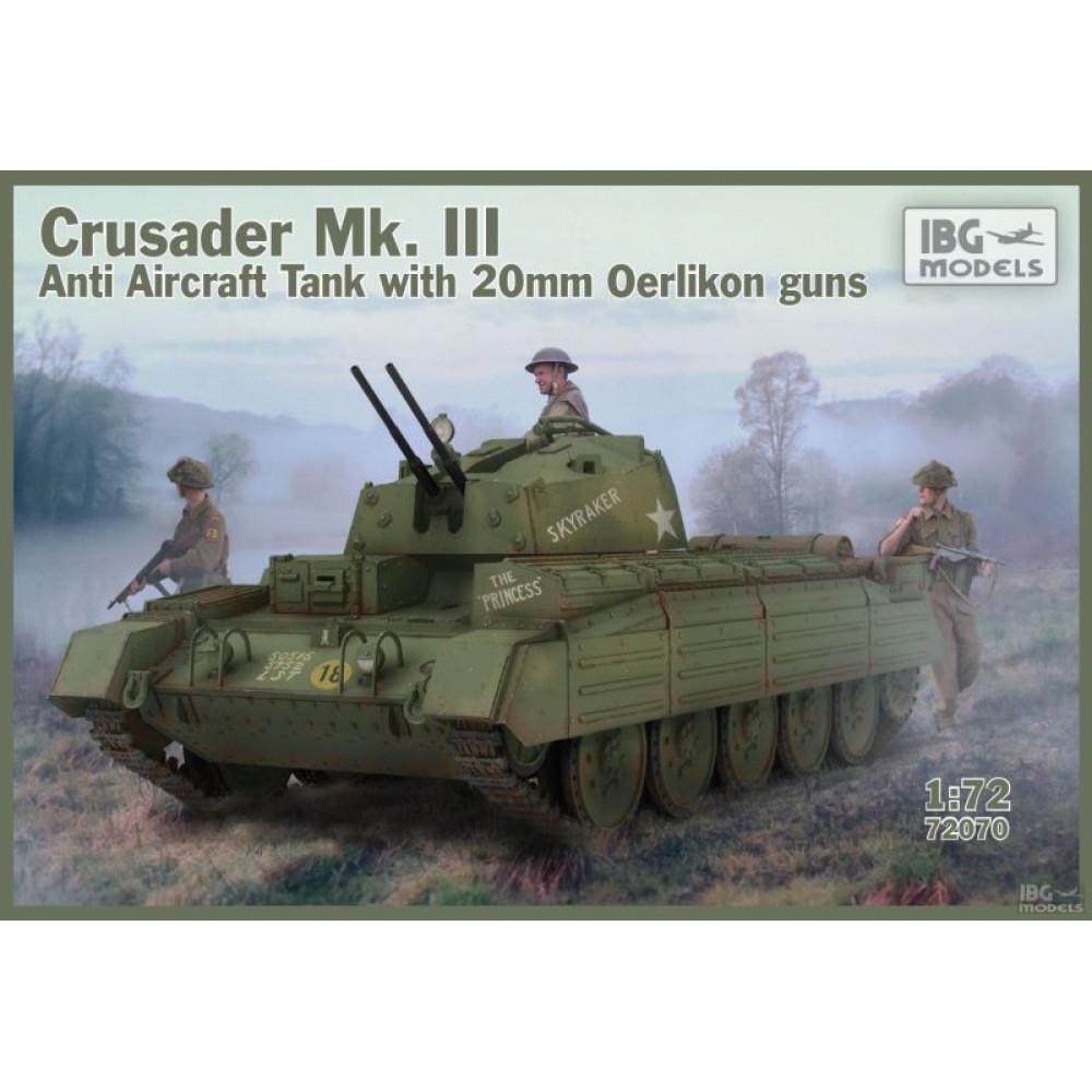 Crusader Mk.III Anti Aircraft Tank 1/72 IBG 72070
