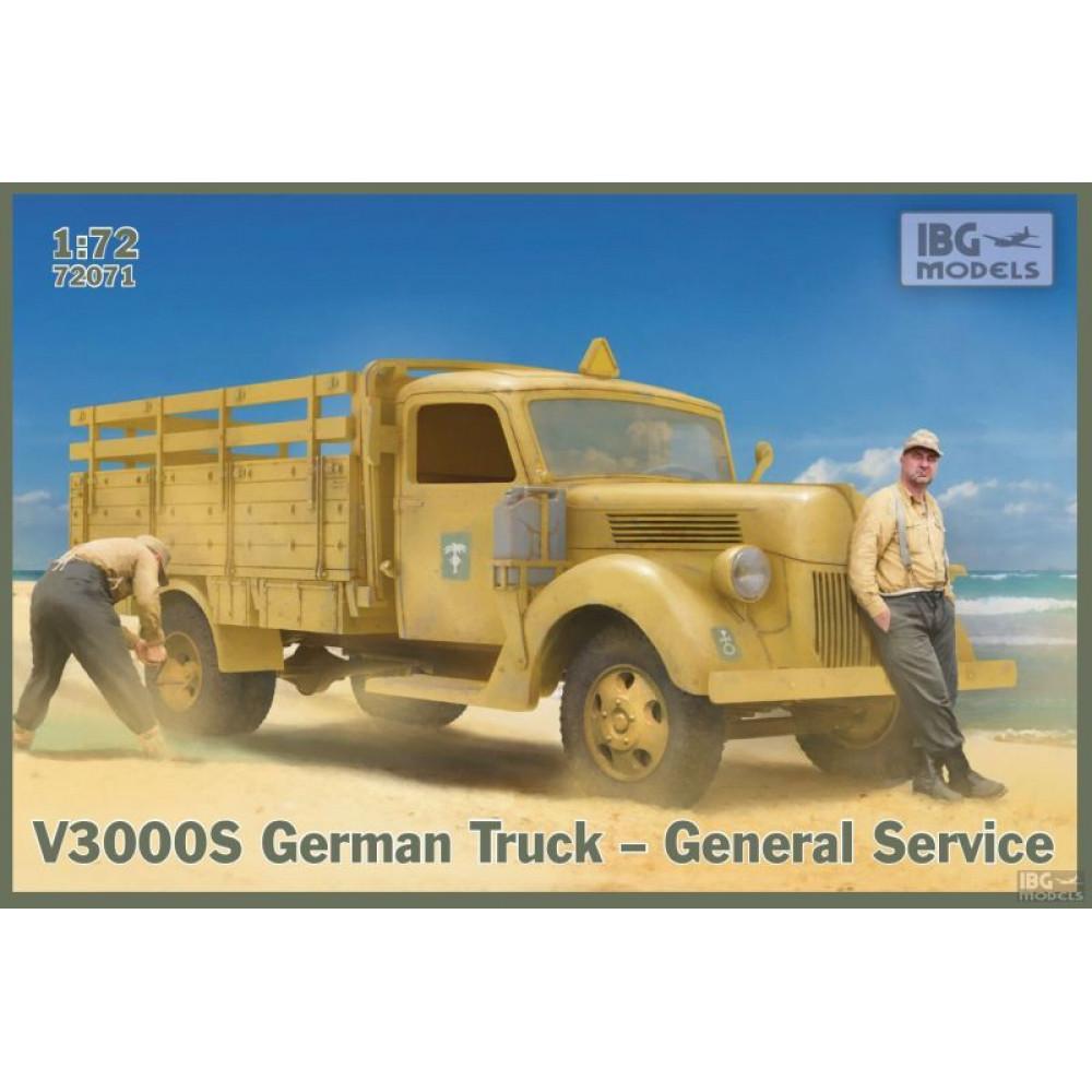 V3000S German Truck General Service 1/72 IBG 72071