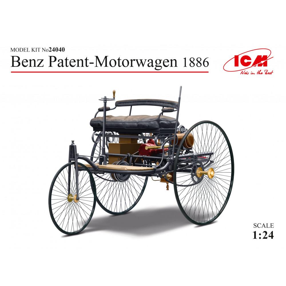 Benz Patent-Motorwagen 1886  1/24  ICM 24040