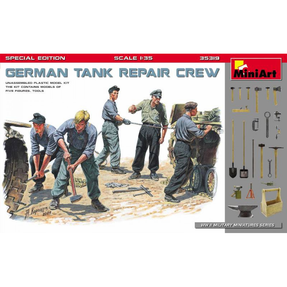 German Tank Repair Crew, Special Edition  1/35 MiniArt 35319