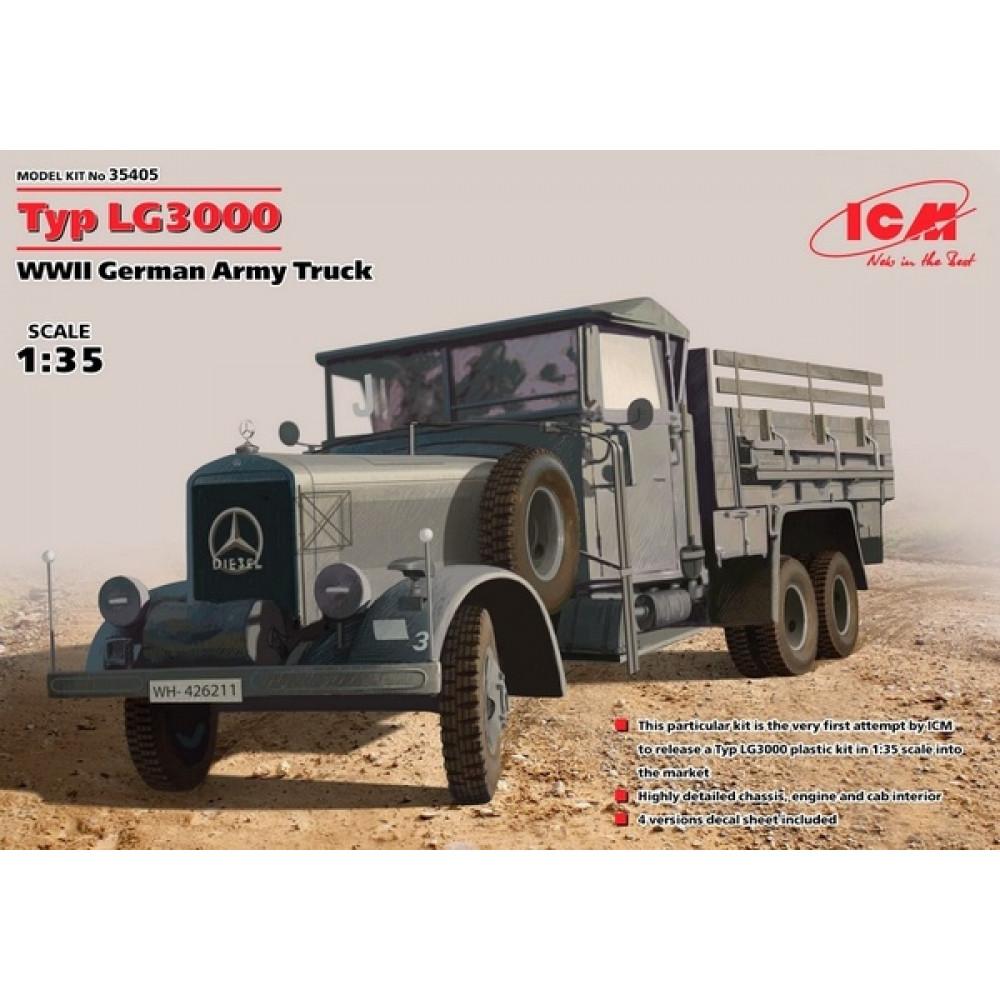 Mercedes-Benz Typ LG3000 (German Army Truck) 1/35 ICM 35405