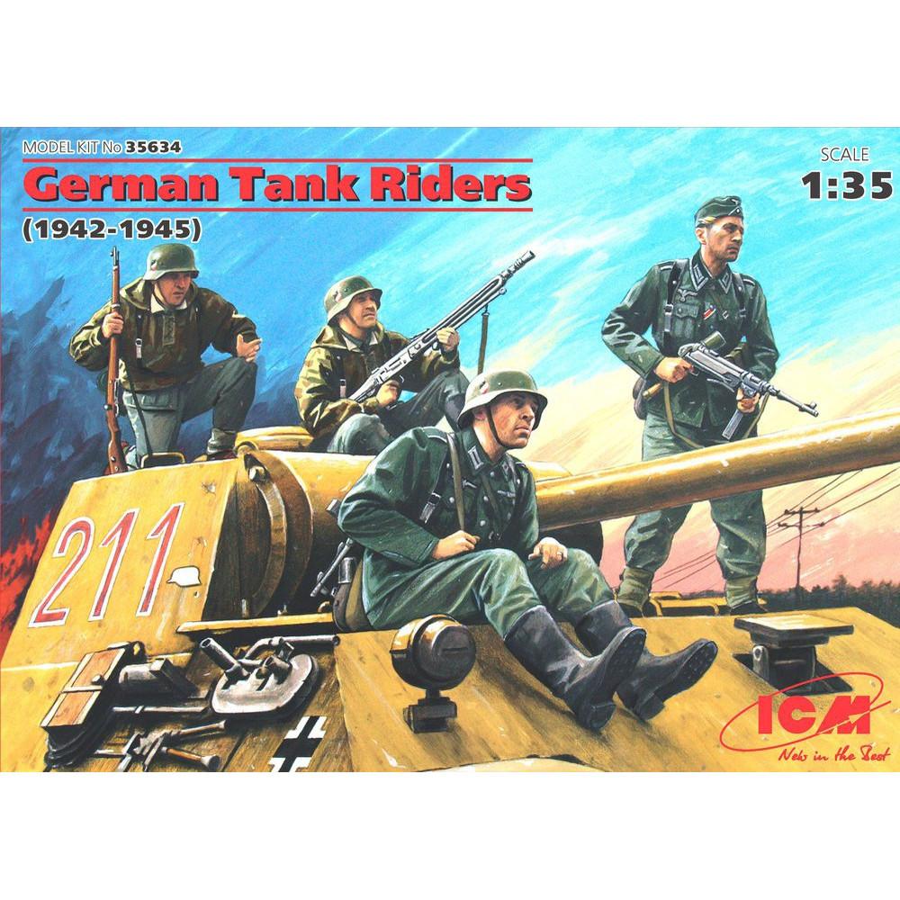 German Tank Riders (1942-1945) 1/35 ICM 35634