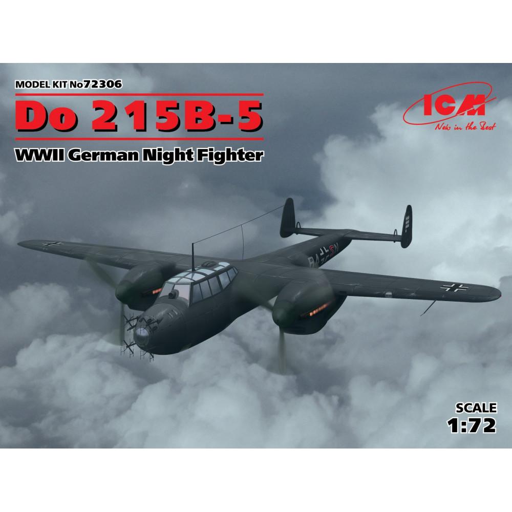 Do 215B-5, WWII German Night Fighter 1/72 ICM 72306