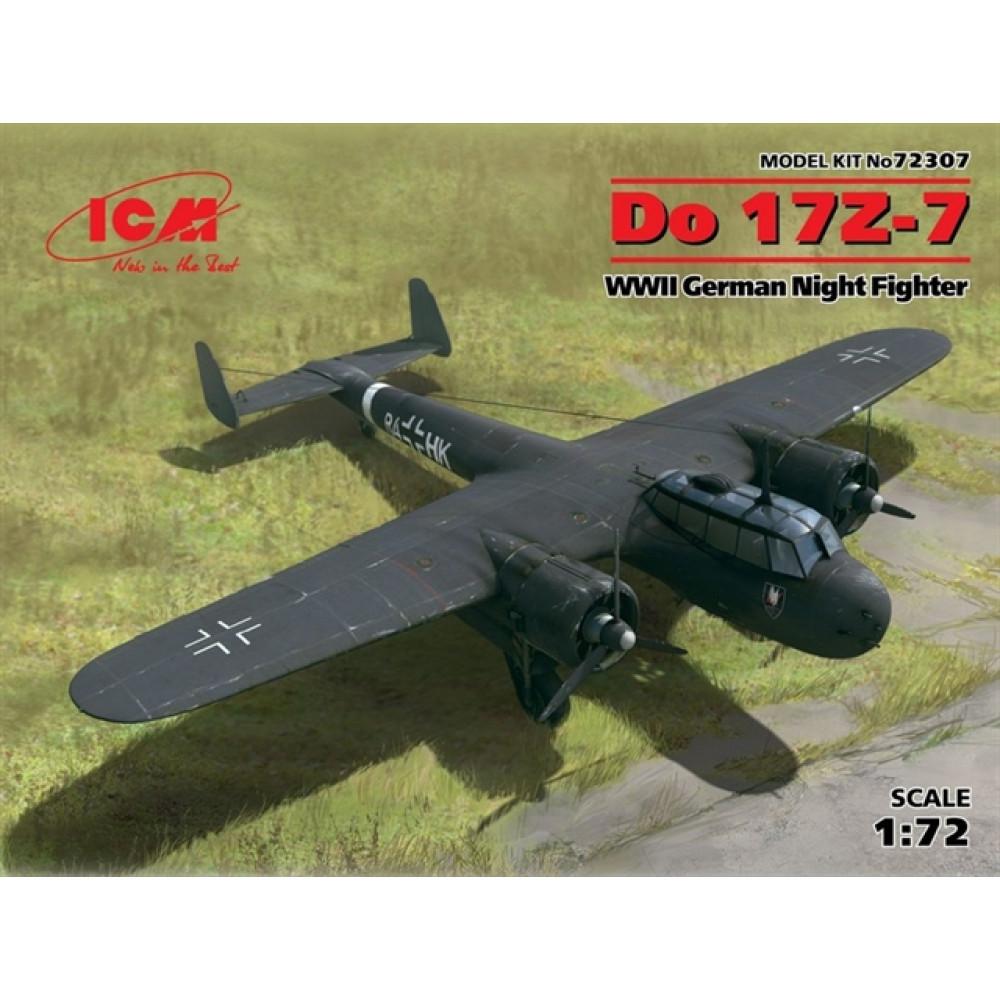 Do 17Z-7, WWII German Night Fighter 1/72 ICM 72307