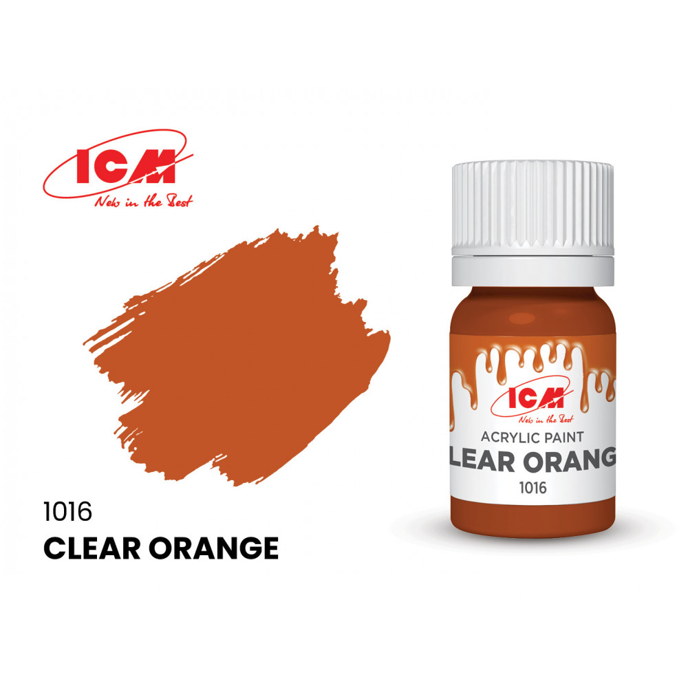 Clear orange ICM 1016 (12ml)