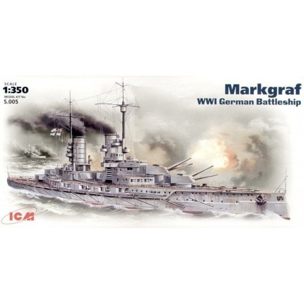 'Markgraf' WWI German battleship 1/350 ICM S005