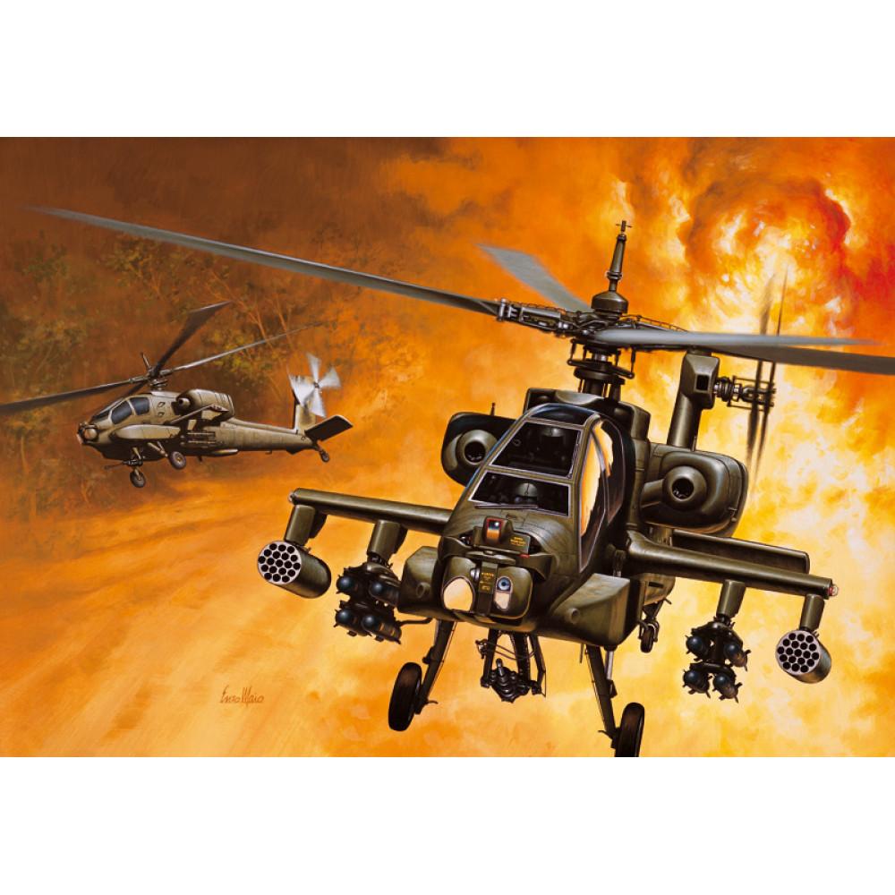 AH - 64 APACHE  1/72 Italeri 0159
