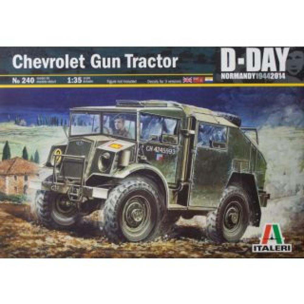 Артиллерийский тягач Chevrolet Gun Tractor  1/35 Italeri  0240