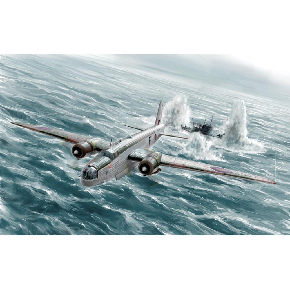 Бомбардировщик Wellington Mk.IC 1/72 Italeri  1383