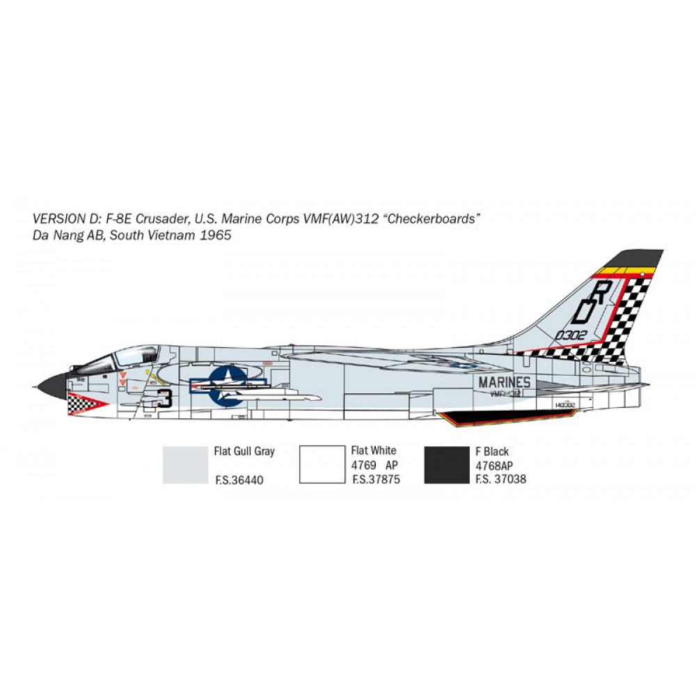 F-8E Crusader 1/72 Italeri  1456