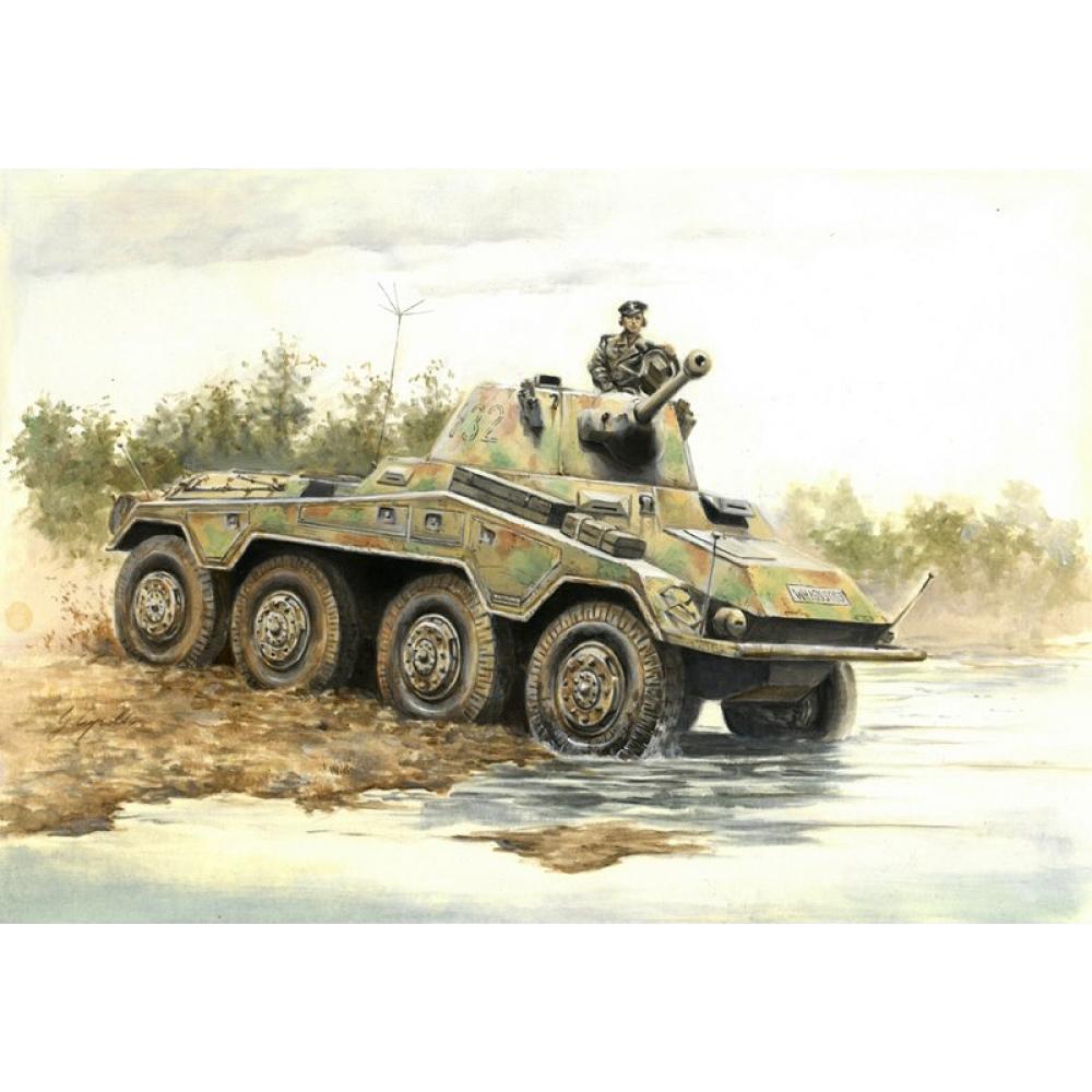 WWII SD.KFZ.234/2 PUMA 1/56 Italeri 15753