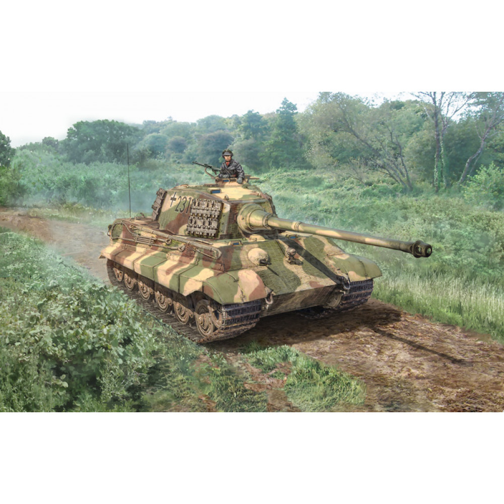 "Sd.Kfz.182 Tiger II ""Королевский тигр""  1/56 Italeri  15765"