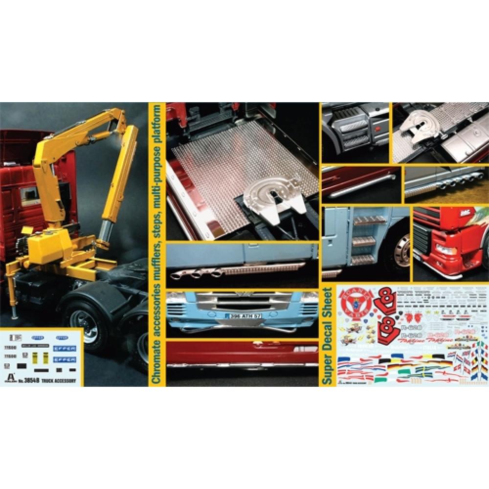 Аксессуары для грузовиков 2  1/24  Italeri 3854