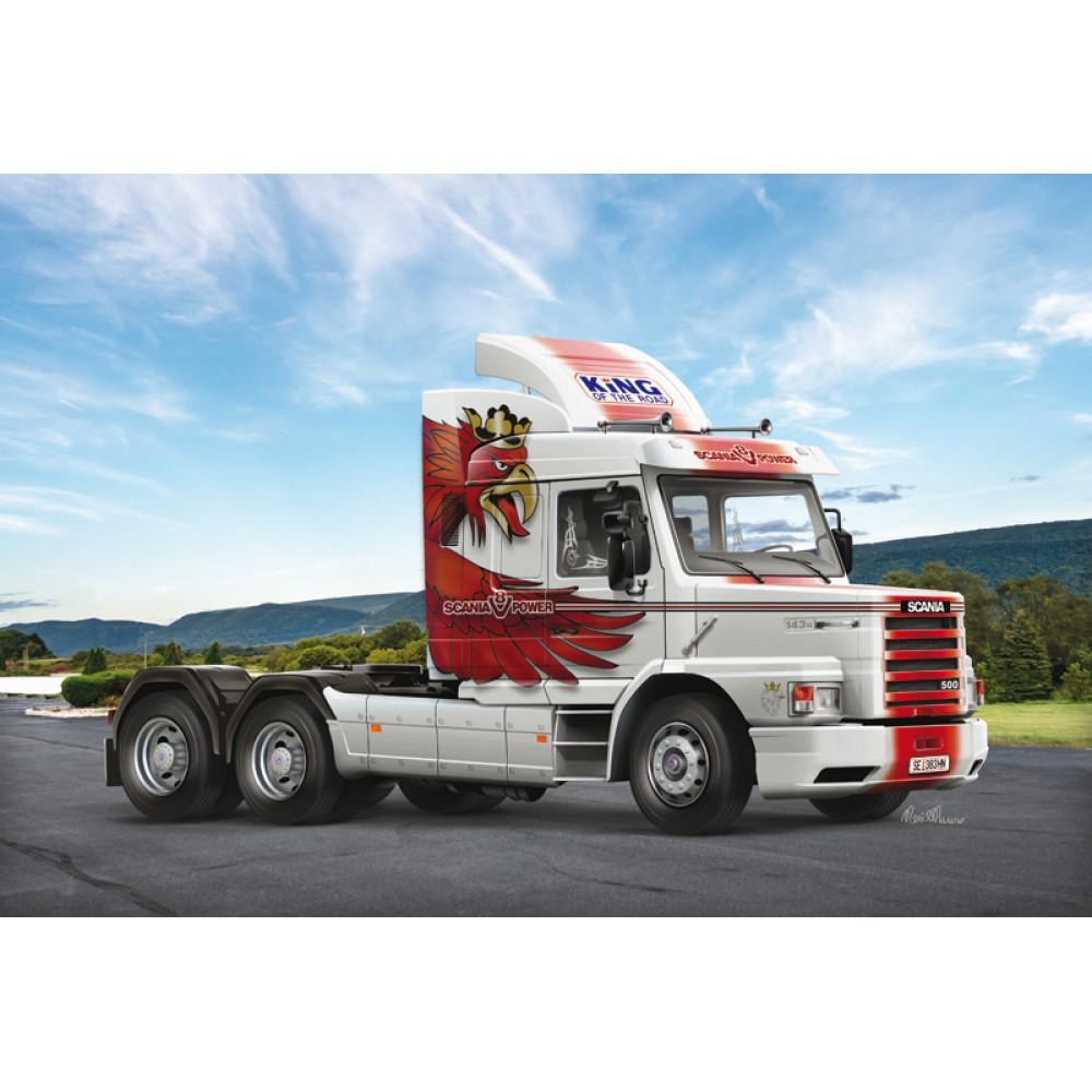 Автомобиль Scania T143H 6x2 Classic Truck 1/24  Italeri 3937