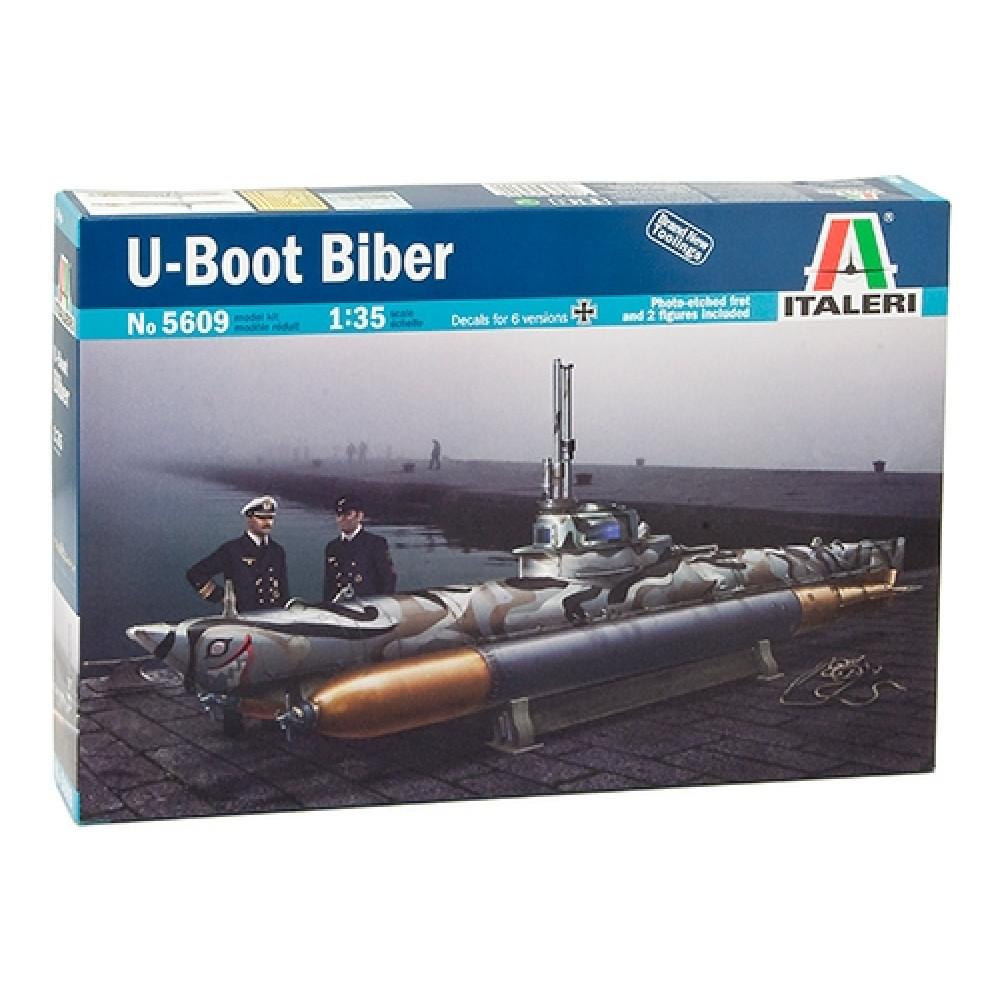BIBER карликовая подводная лодка 1/35 Italeri 5609