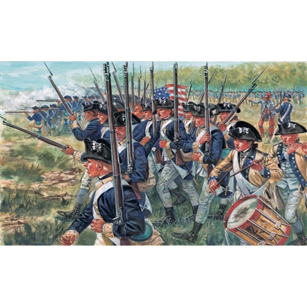 Американская пехота, Война 1775 г. 1/72 Italeri 6060
