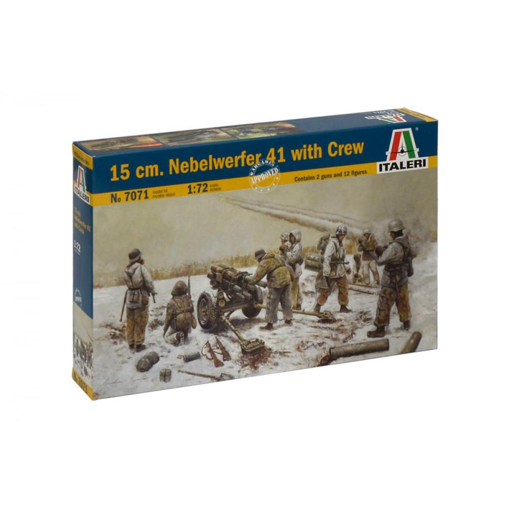 Артиллерия ствольная 15 cm Nebelwerfer 41 1/72 Italeri  7071