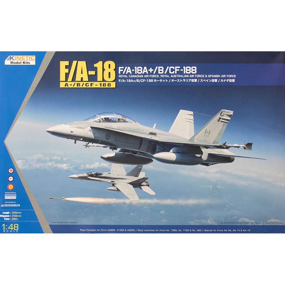 Самолет F/A-18A+, CF-188  1/48 Kinetic 48030