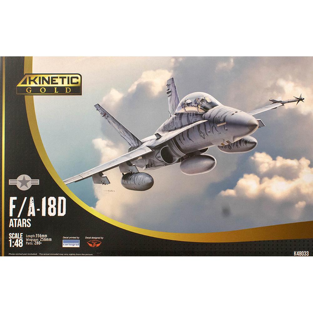 Самолёт F/A-18D ATARS Hornet  1/48 Kinetic 48033