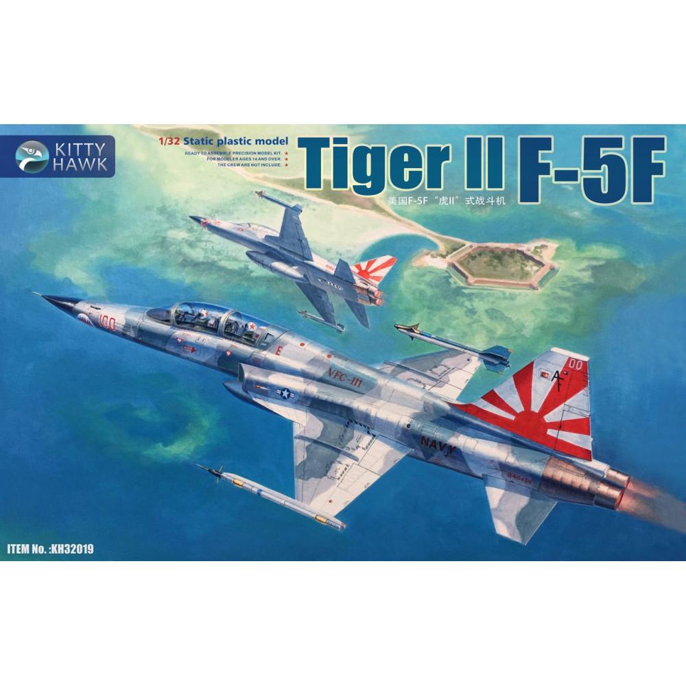 """Американский истребитель F-5F """"Tiger"""" II 1/32 Kitty Hawk KH32019"""