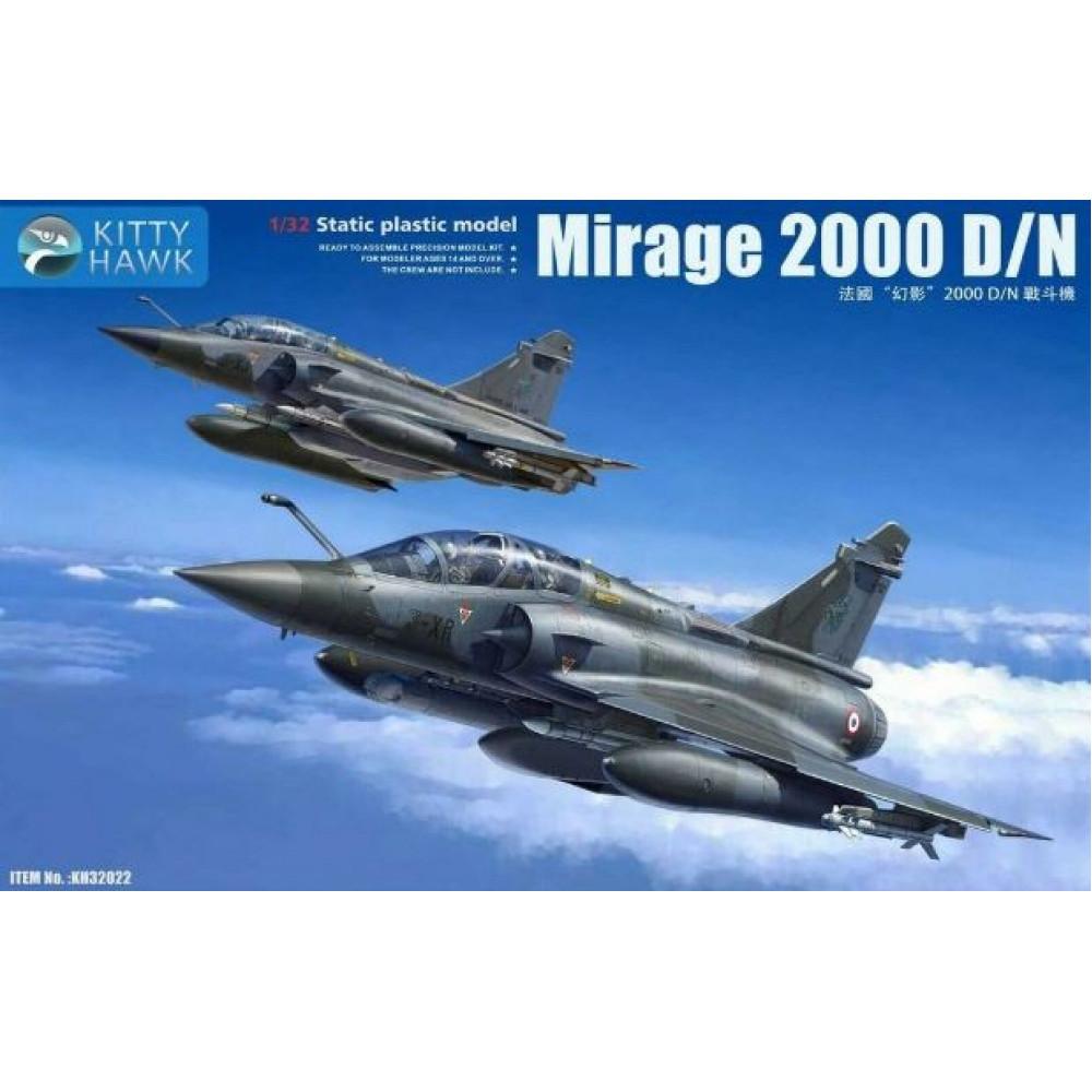 Истребитель Mirage 2000 D/N 1/32 Kitty Hawk KH32022