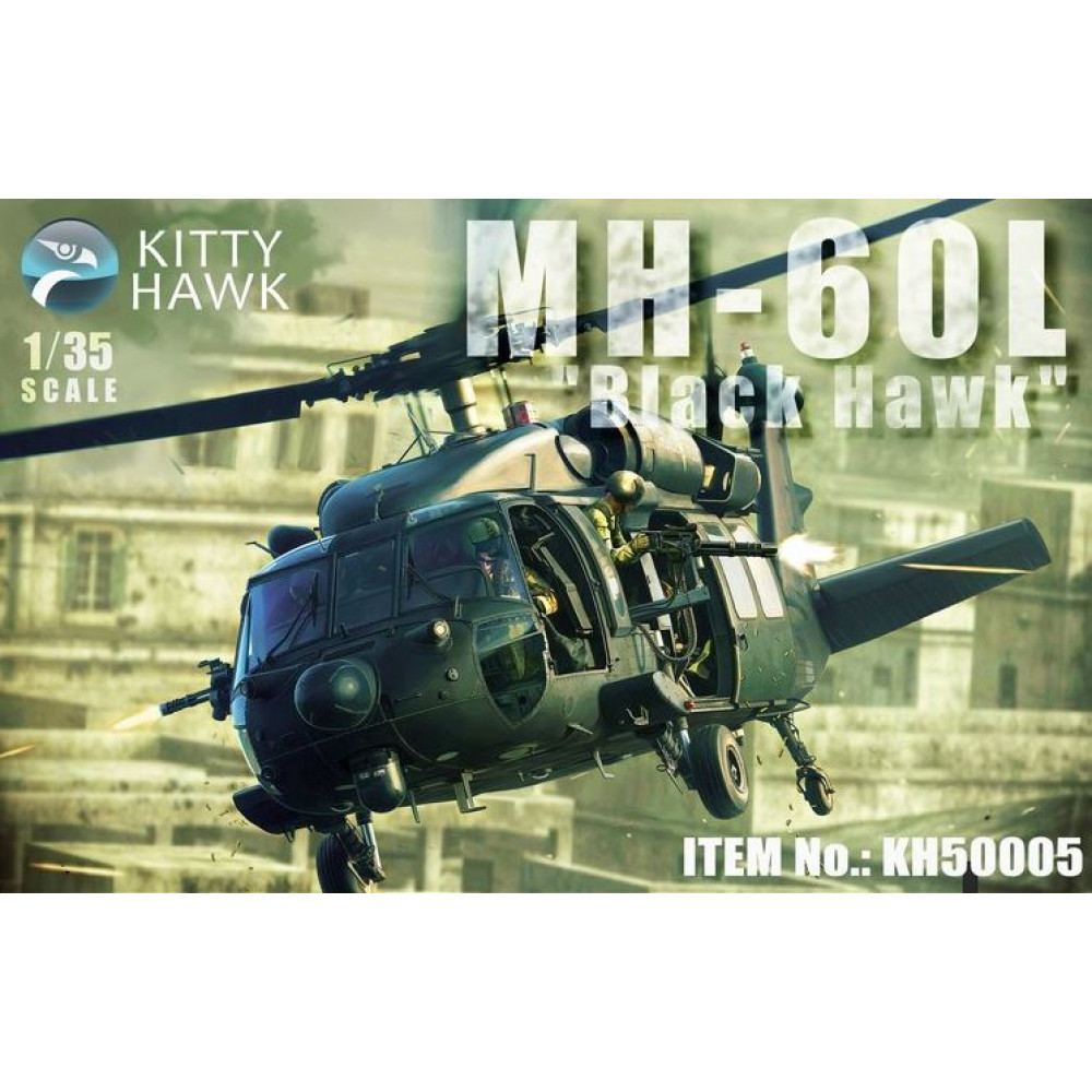 "Вертолет US MH-60L ""Black Hawk"" 1/35 Kitty Hawk KH50005"