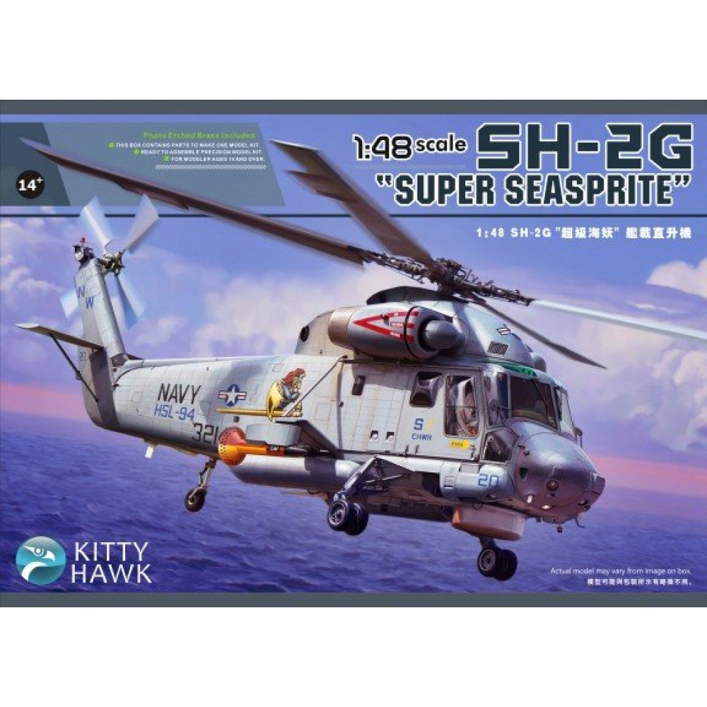 "Вертолет SH-2G ""Super Seasprite""  1/48 Kitty Hawk 80126"