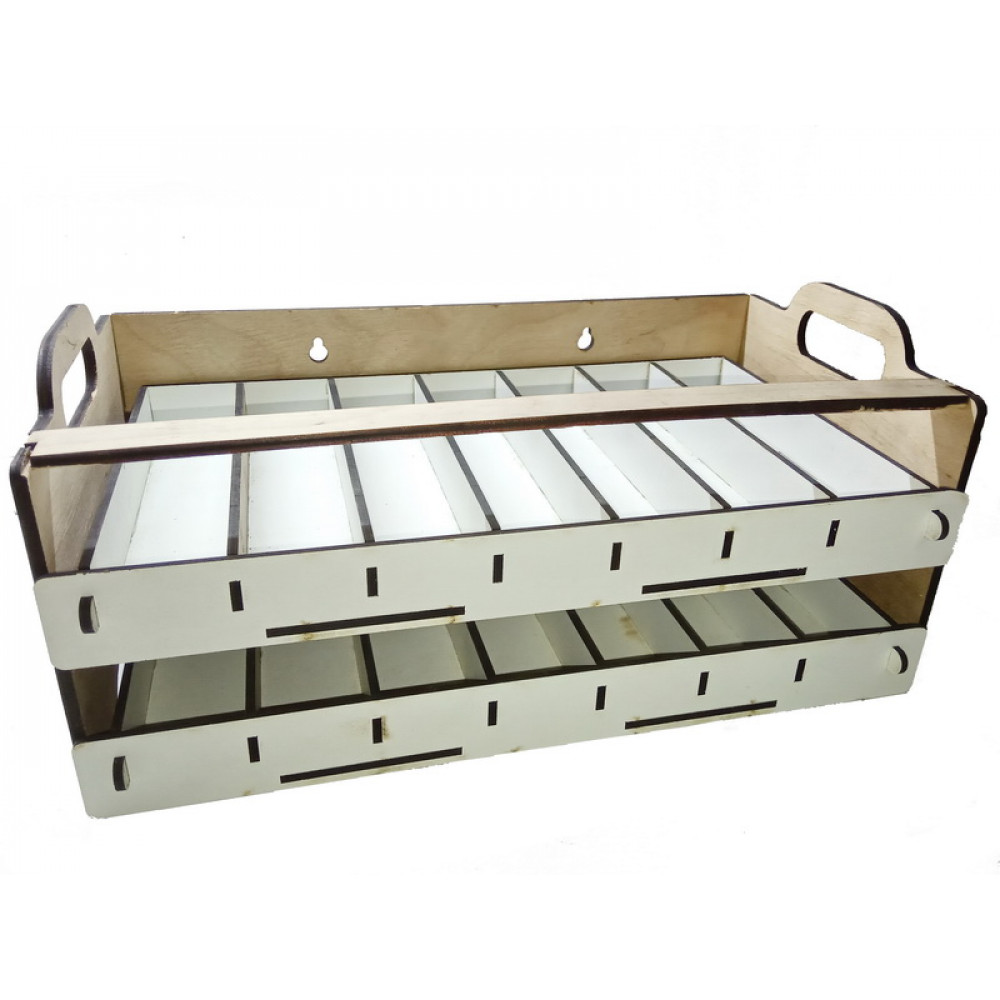 Double paint storage stand 50*30-35 mm LMG WO-27