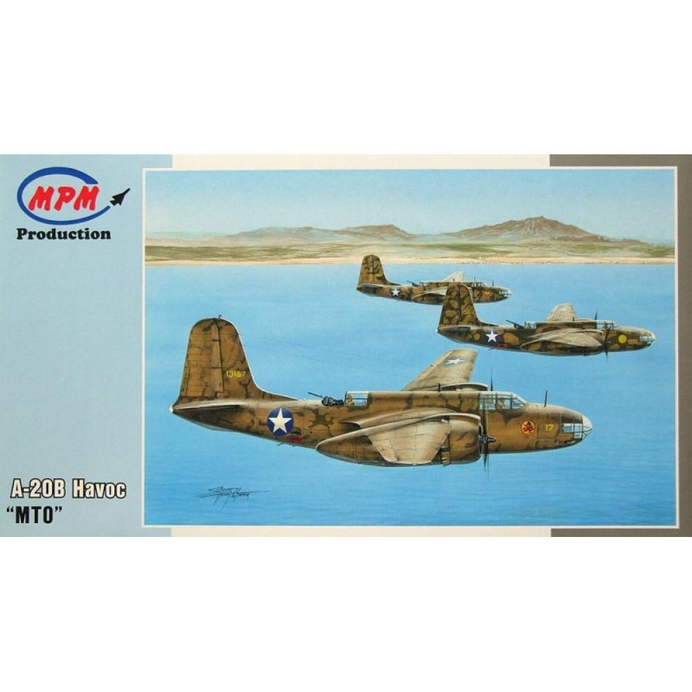 "A-20B Havoc ""MTO"" 1/72 MPM 72557"