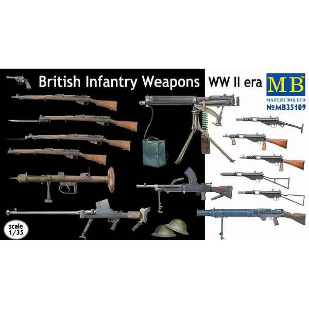 British Infantry Weapons, WW II era 1/35 MasterBox 35109
