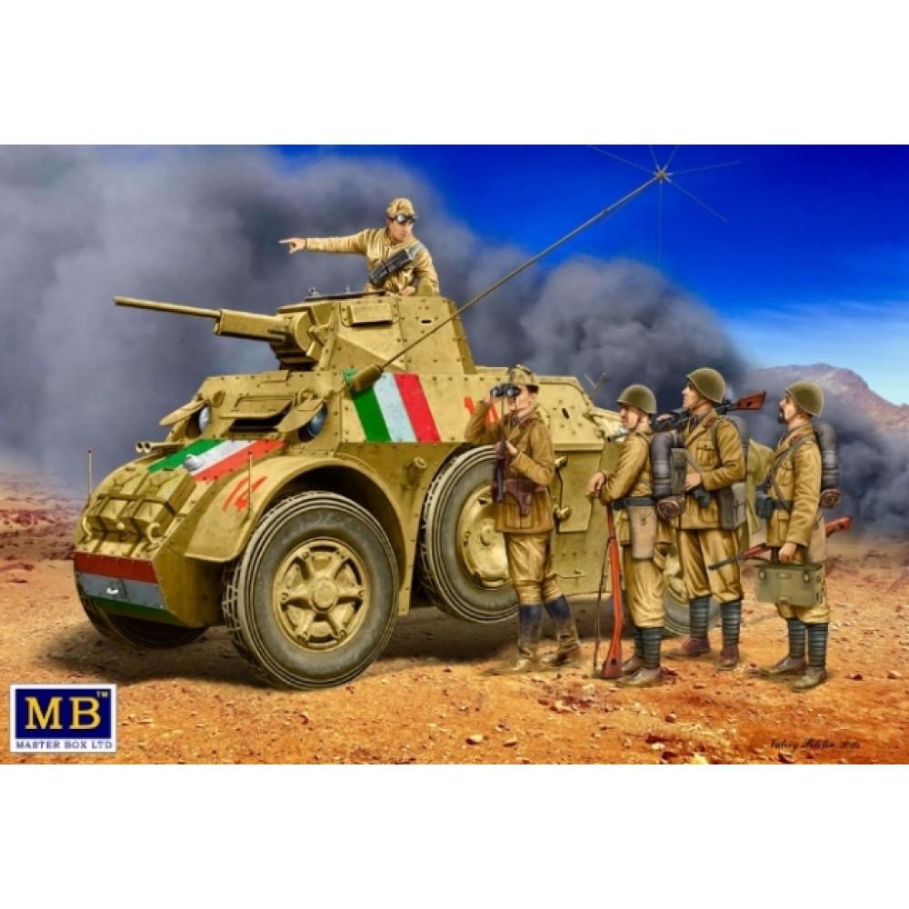 Итальянские военные Второй мировой войны 1/35 MasterBox 35144