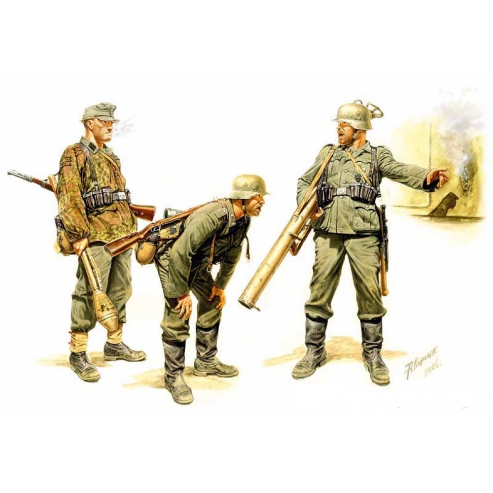 Немецкая группа борьбы с танками,1944 год 1/35 MasterBox 3515
