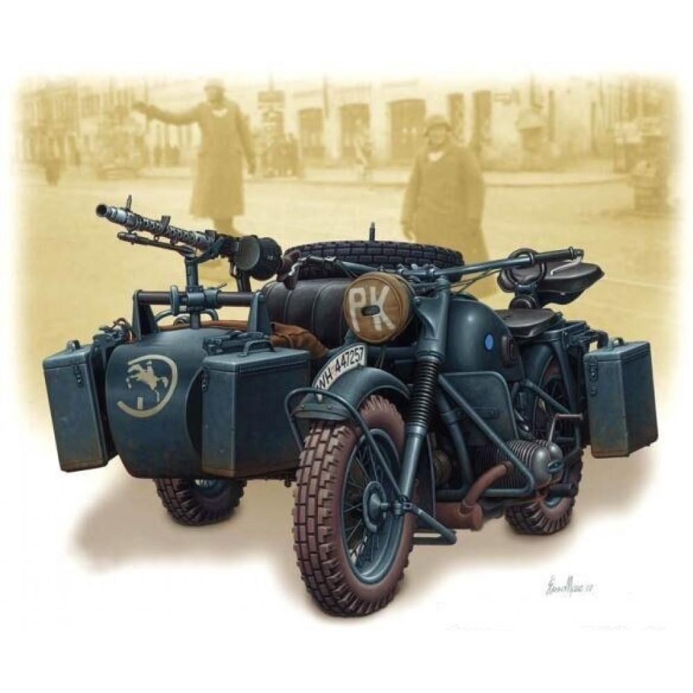 German motorcycle WWII  1/35 MasterBox 3528