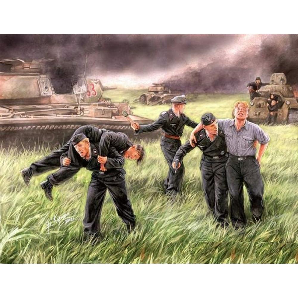German Tank Crew, Kursk, 1943 1/35 MasterBox 3536