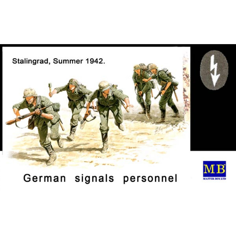 German Signals Personnel 1/35 MasterBox 3540