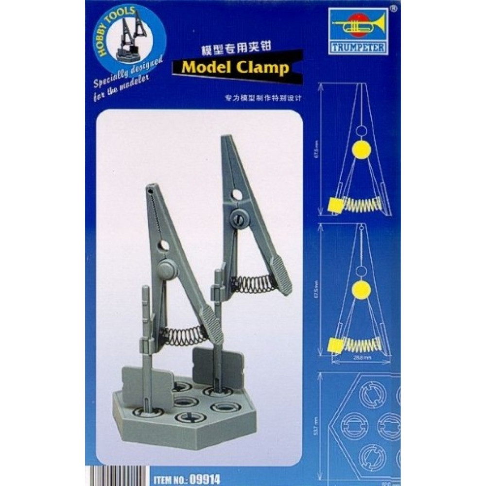 Clamp for fixing details  MasterTools 09914