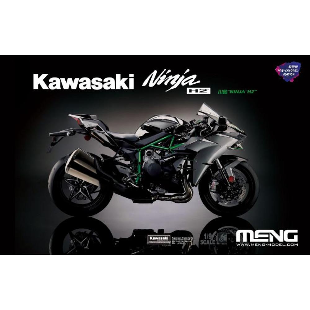 Kawasaki Ninja H2 1/9 Meng model MT-002S