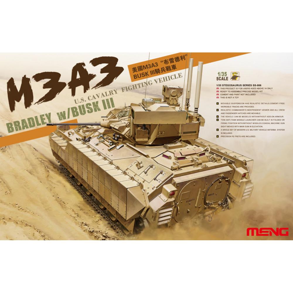 M3A3 Bradley BUSKIII   1/35 Meng model ss-006