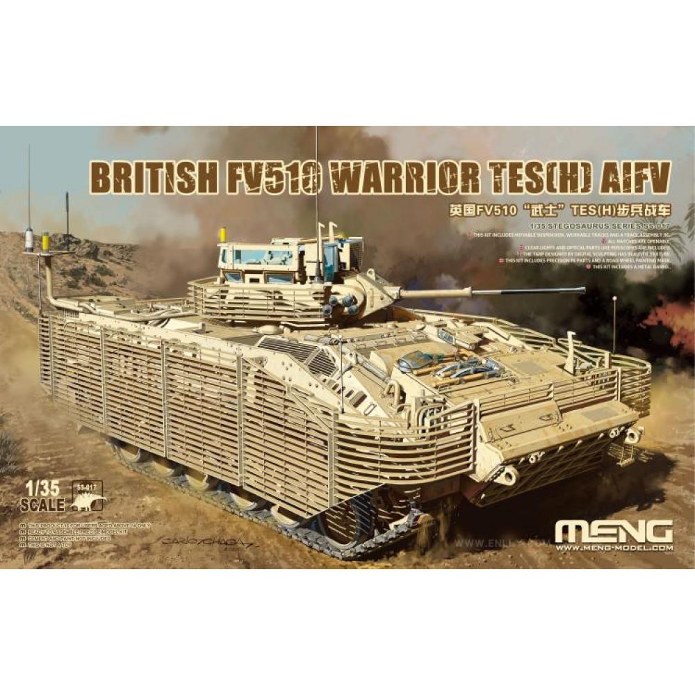 British FV510 Warrior TES(H) 1/35 Meng model ss-017