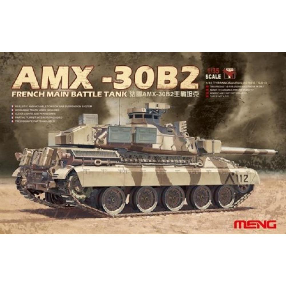 AMX-30B2 French Main Battle Tank 1/35 Meng Model  ts-013