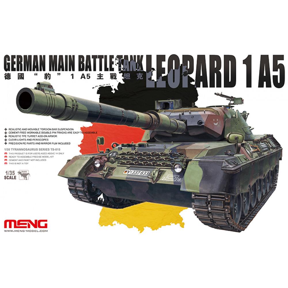 German Main Battle Tank Leopard 1 A5 1/35 Meng Model  ts-015