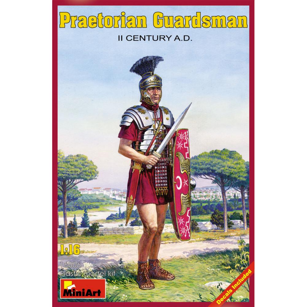 Praetorian Guardsman II CENTURY AD  1/16 MiniArt 16006
