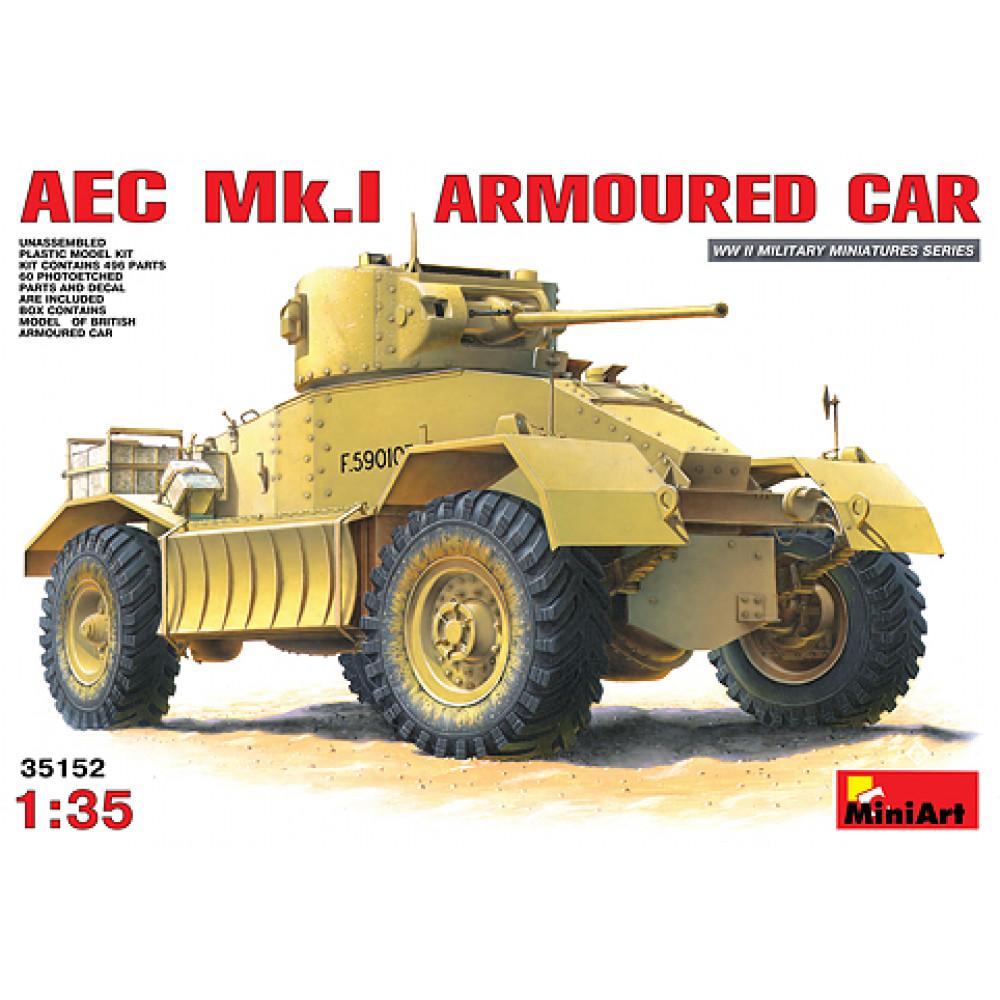 AEC Mk.I Armoured Car  1/35 MiniArt 35152