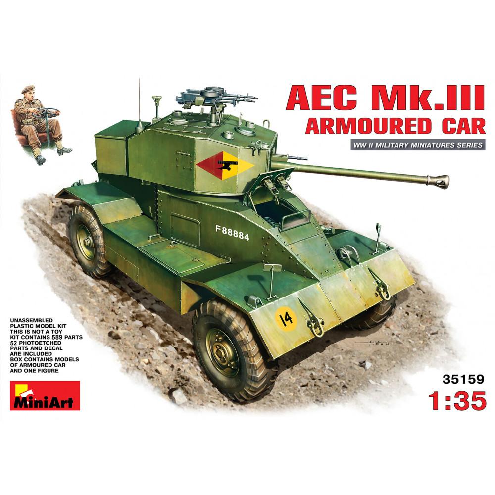 AEC Mk.III Armoured Car  1/35 MiniArt 35159