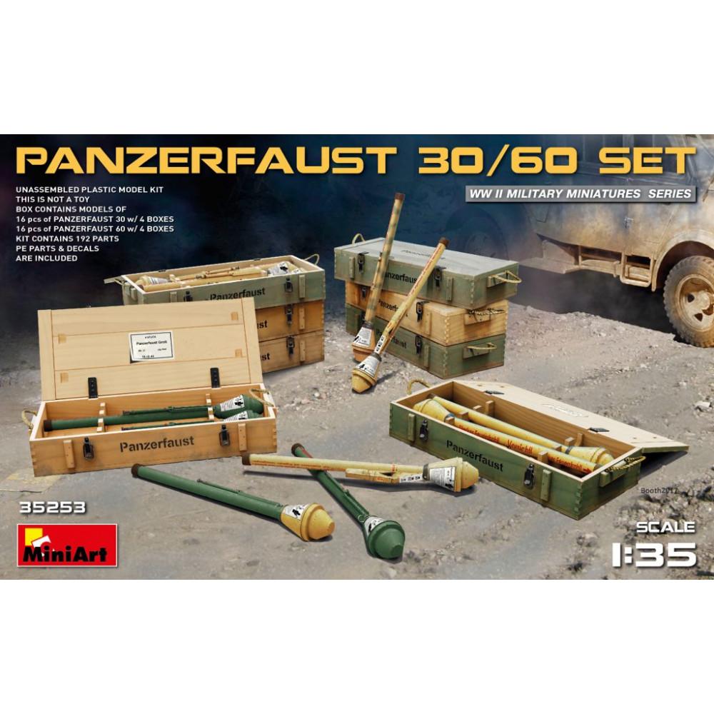 Panzerfaust 30/60 set 1/35 MiniArt 35253