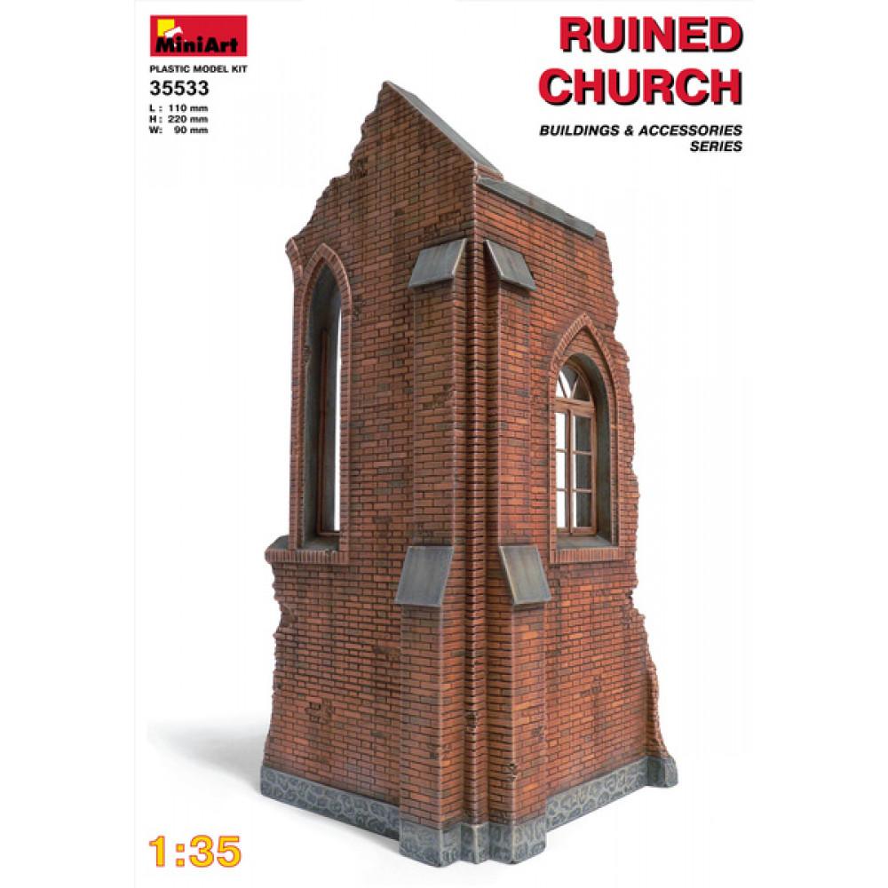 Church ruin 1/35 MiniArt 35533