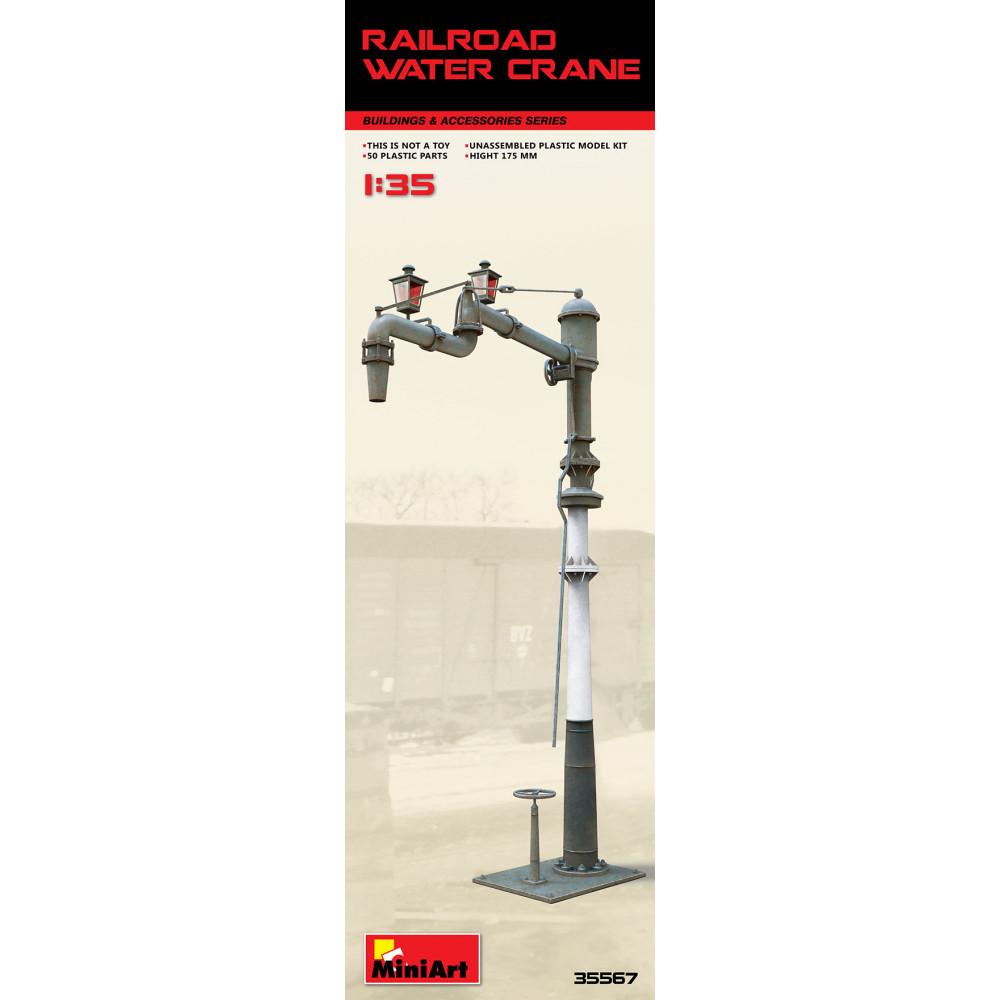 Railroad water crane 1/35 MiniArt 35567