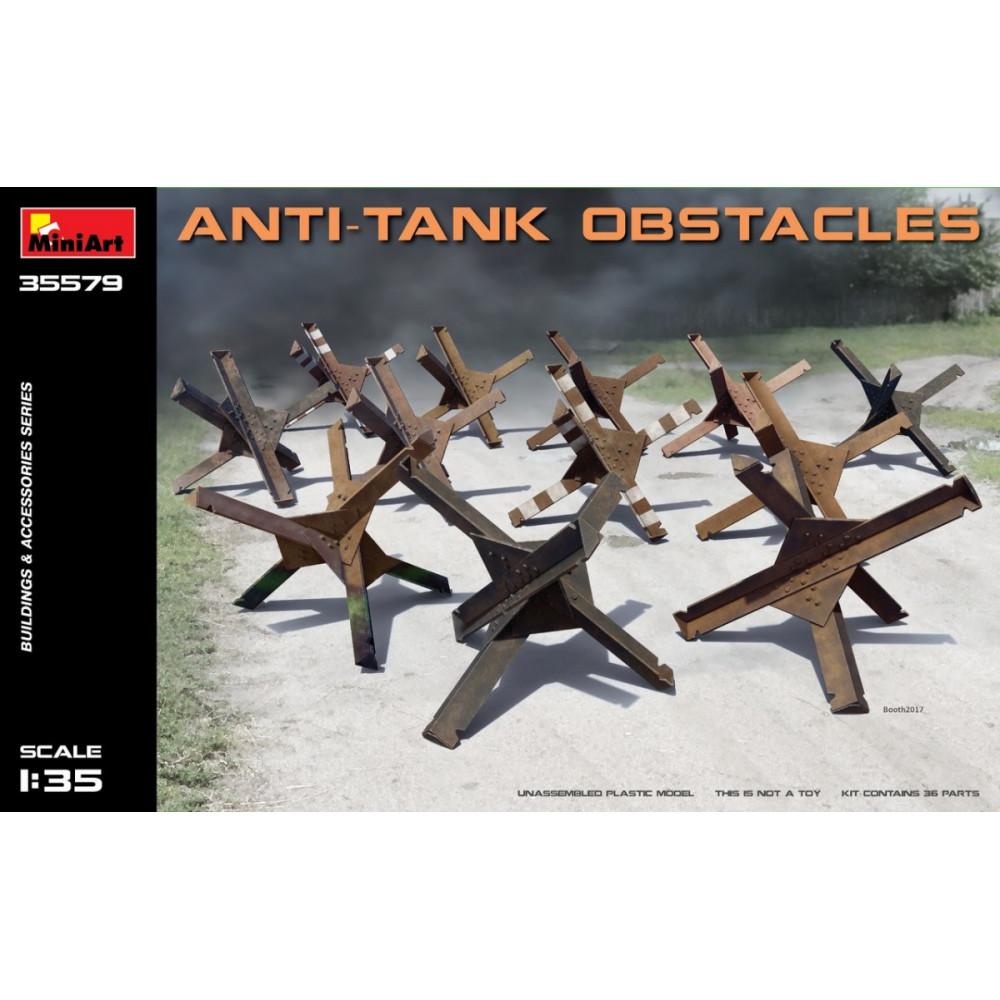 Anti-Tank Obstacles 1/35 MiniArt 35579