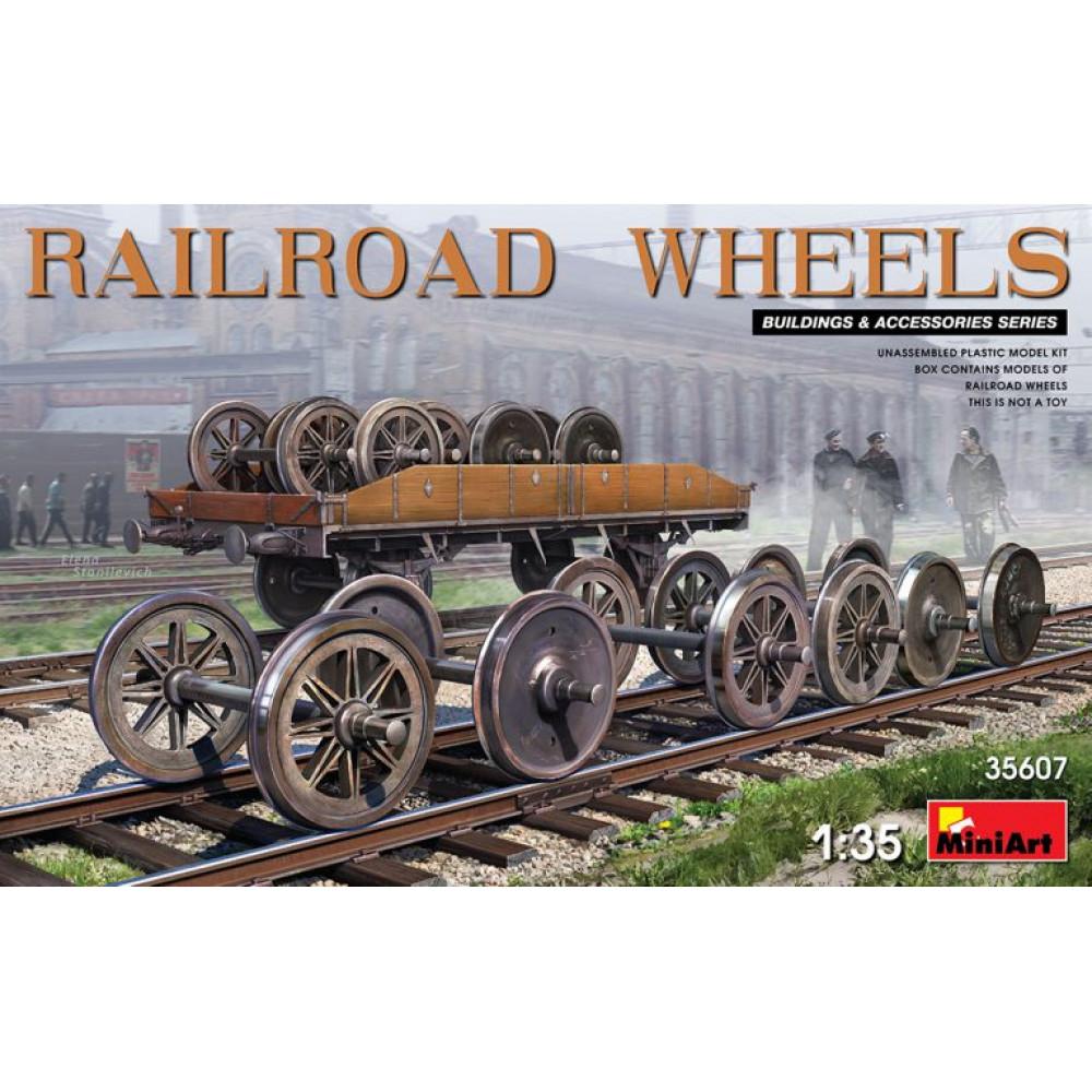 Railroad wheels 1/35 MiniArt 35607